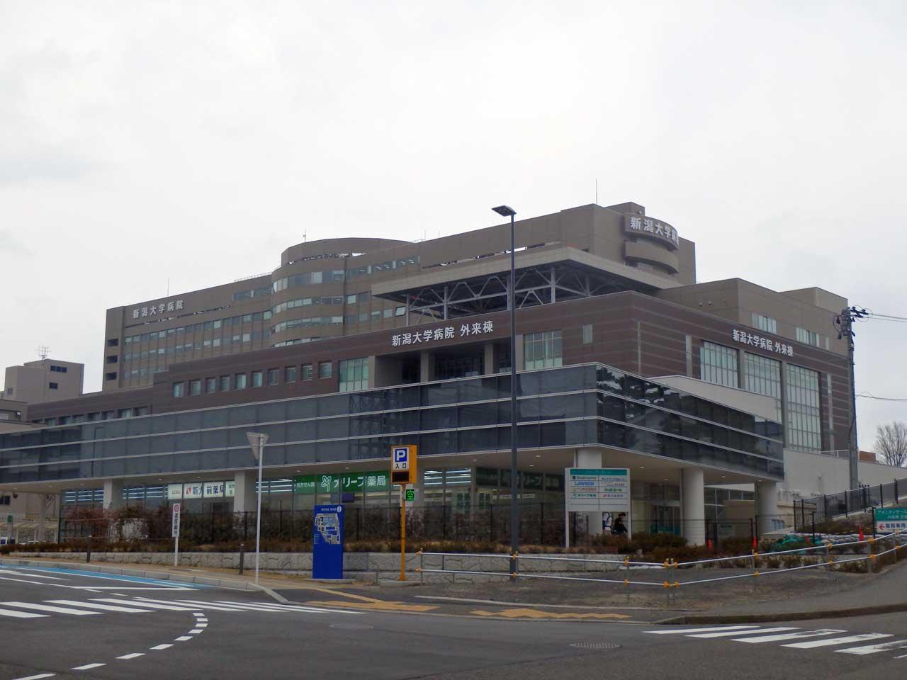 新潟医歯学総合病院アメニティモール